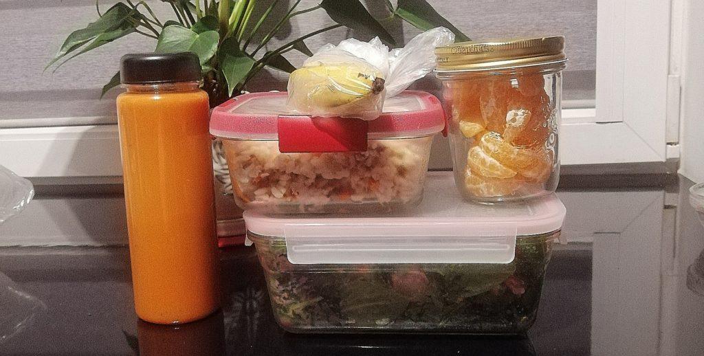 3 sposoby na sprytne gotowanie - przykładowy zestaw jedzenia